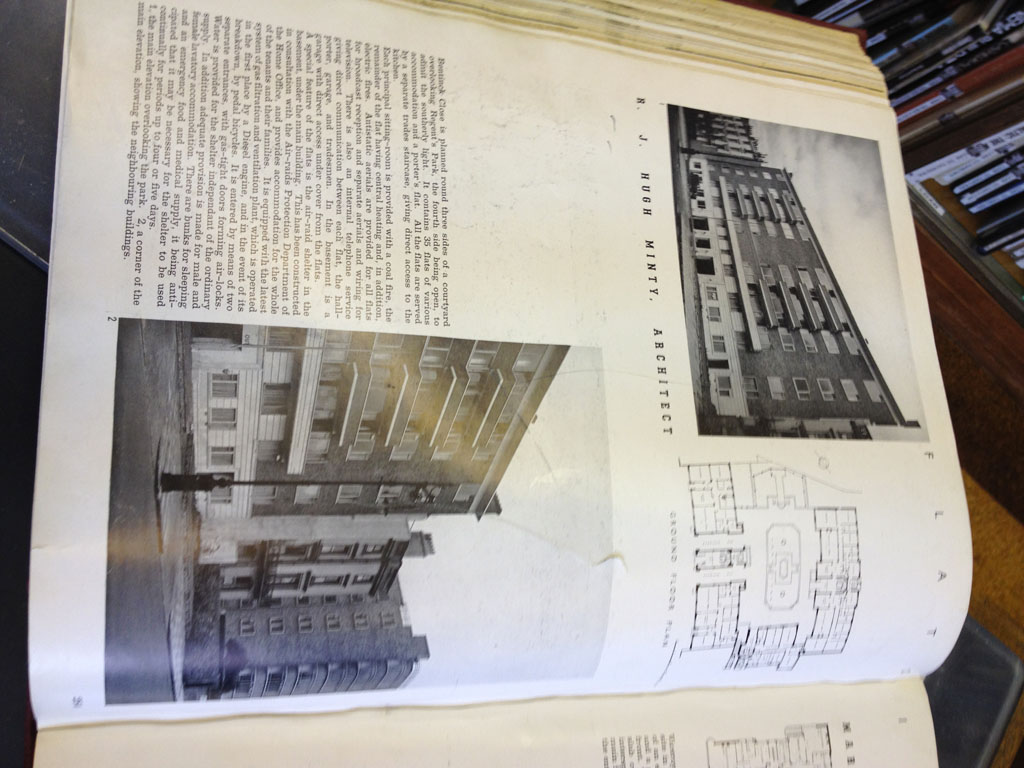 Architects London Deco Flats